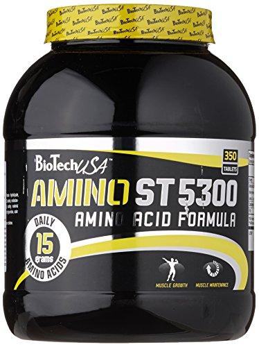 BioTech USA Amino ST 5300 350 Tabletten, 1er Pack (1 x 1.085 kg)