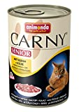 Animonda Carny Senior mit Huhn plus Käse, 6er Pack (6 x 400 g)