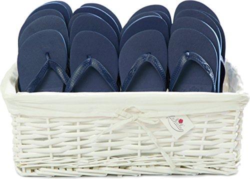 ZOHULA Marineblau Originals Flip Flop Party Pack - 20 Paar ([10xM][10xL])