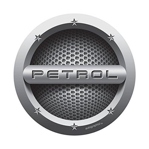 autographix silver petrol fuel badge - circle Autographix Silver Petrol Fuel Badge – Circle 51JJn3TLcOL