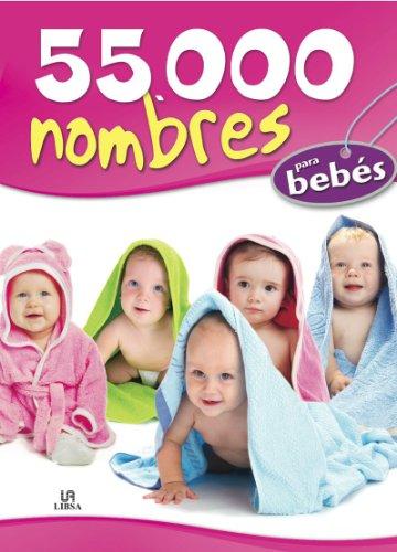 Portada del libro 55.000 Nombres para Bebés (Mucho Más)