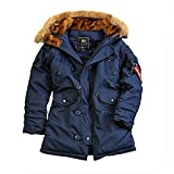 Alpha Industries Explorer Wmn Winterjacke Rep. Blu