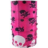 headloop multifunción Toalla Calavera Varios Colores bufanda pañuelo Manguera, rosa