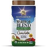 Warrior Blend, Protéine Organique à Base de Plantes, Chocolat - c