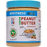 MYFITNESS Natural Peanut Butter Crunchy 1Kg (Unsweetened)