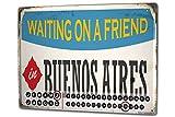 Calendario perpetuo Pasión Viajes Ciudad Buenos Aires Argentina Metal Imantado