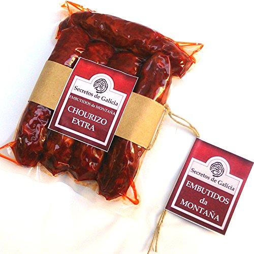 Chorizo Extra de la Montaña - 320 gr - 5 Piezas