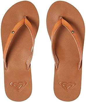 Roxy Women's Jyll Flip Flops, Brown (Tan Tan), 7 Uk 2
