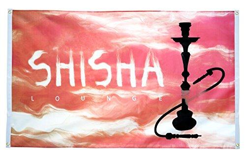 Flaggenfritze Balkonflagge Shisha Lounge - 90 x 150 cm