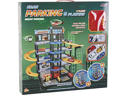 MODELMOVIL Parking 5 Alturas Transformable 4 Coches y 1...
