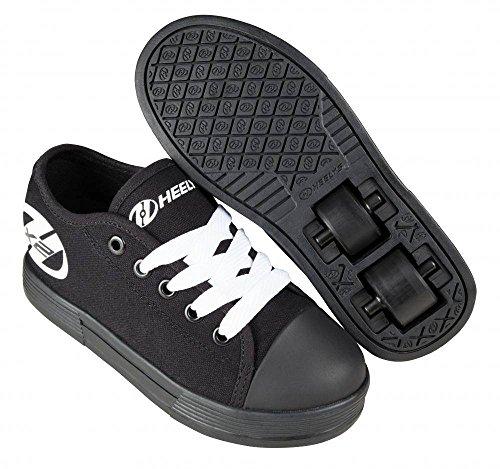 Heelys X2 Fresh Schuhe schwarz-schwarz-pink M盲dchen Schwarz / Schwarz