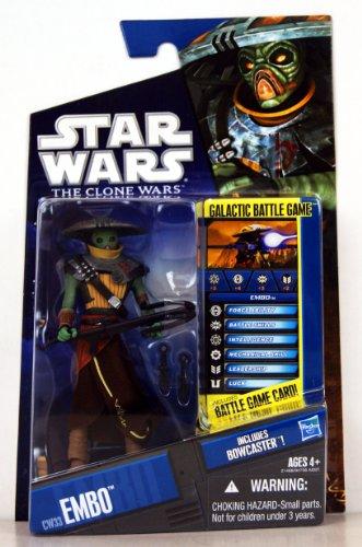 Star Wars 21468 Star Wars Embo aus The Clone Wars mit Battle (Embo Star Wars)