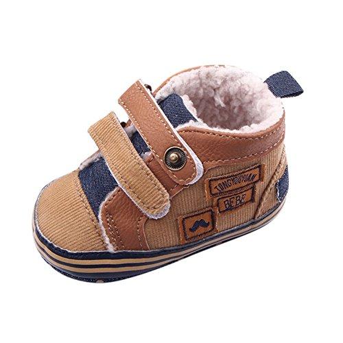 ROPALIA Kleinkind Winter Warme Schuhe Säuglingskleinkind Anti Slip Boots