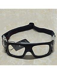Forfar Lentilles antidéflagrantes Des lunettes de protection Sports portatifs Des lunettes Protecteur Pour le basket bal