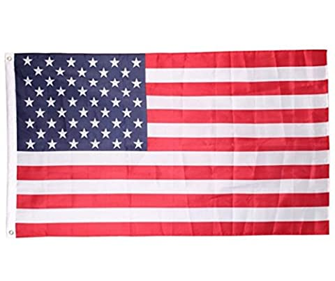 US American Flag , Cheap4uk 5ft x 3ft USA United States of America American Flag- Variety of Countries to