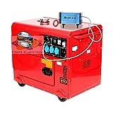 Kraft&Dele generador diesel monofásico ATS Generador de 6,5 KW