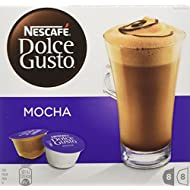 NESCAFÉ Dolce Gusto Mocha, Pack of 3 (Total 48 Capsules, 24 Servings)