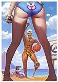Poster Chacal & D.va Overwatch (A) - A3 (42x30 cm)