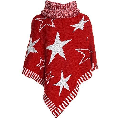 BEZLIT -  Cardigan  - stile impero - A righe - Collo mao  - Maniche lunghe  - ragazza Rot 8 anni