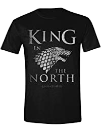 Game of Thrones - King in the North Hommes T-Shirt - Noir