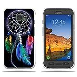 Fundas Samsung Galaxy S7 Active Carcasas Protectora de Silicona de Calidad Superior -FUBAODA- Hermoso Atrapasueños, Resistente a Golpes, Antipolvo, Resiste a los Arañazos Carcas...