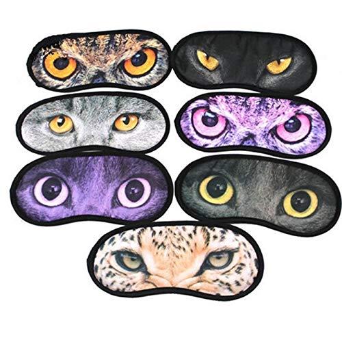TOSSPER Tierschlafen Augen Relax Maske Blindfold-Test Travel Schlaf