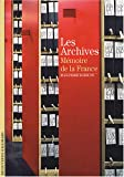 Les Archives - Mémoire de la France