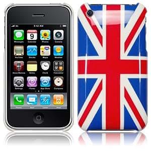 IPHONE 3G 3GS UNION JACK BACK COVER CASE PART OF THE QUBITS ACCESSORIES RANGE