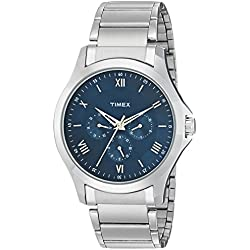 Timex Everyday Formals Analog Blue Dial Men's Watch-TW000X115