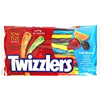 Twizzlers Rainbow Twists Large Pack 351g x3