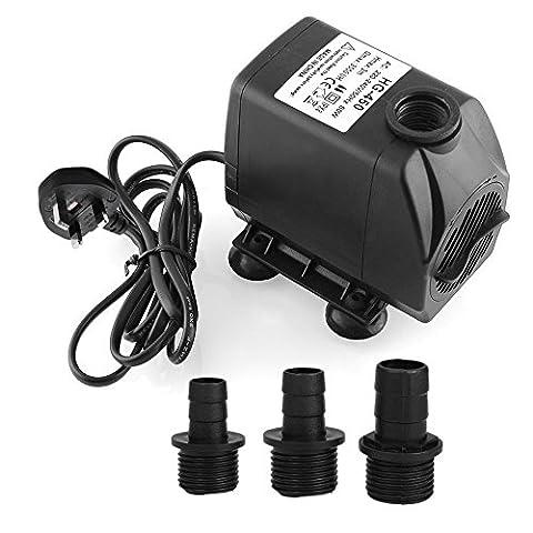 MVPOWER 3000L/H Mini Submersible Pumps Multi Functional Fish Tank Pump
