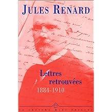 Lettres retrouvées : 1884-1910