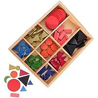 VANKOA Juego Educativo Montessori Material de Gramática Sensorial 90 Símbolos de Gramática y Kit de Caja Regalo para Niños Bebés