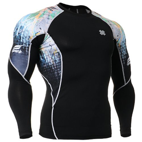 Fixgear Sports Mens Womens Running Compression T-Shirt Underwear S–4XL