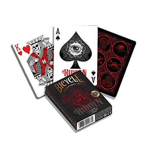 Bicycle Hidden Baraja de Cartas de Poker Premium para coleccionsta, Color Multiple (1041160)