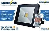 PowerSave Advanced Technology ~ Remote Control ~ Microwave Sensor ~ Slimline ~ Energy Saving LED ~ Security Flood Light ~ (30w Flood Light / 300w equivalent)