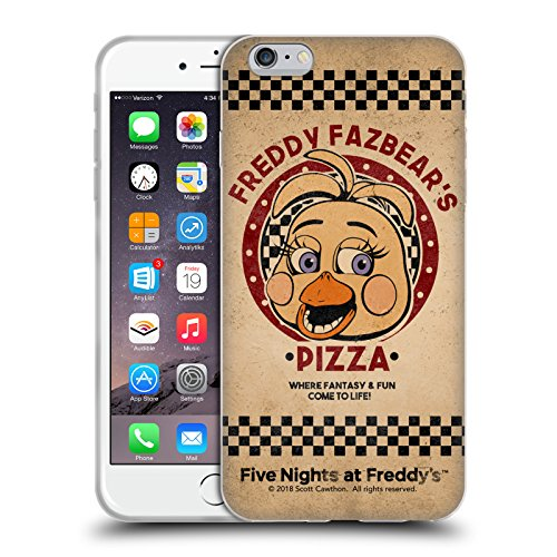 Official Five Nights At Freddy's Toy Chica Freddy Fazbear's Pizza Soft Gel Case for iPhone 6 Plus / iPhone 6s Plus