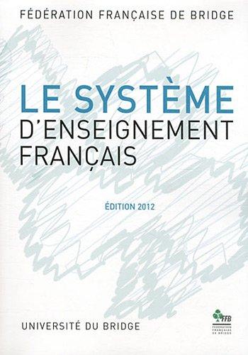 Le système d'enseignement français