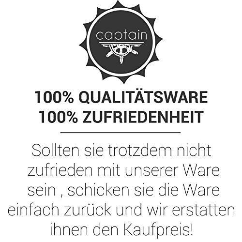 Captain Slim Fit Herren Hemden (in 24 Verschiedenen Farben) Langarm-Hemd 100% Baumwolle Beige