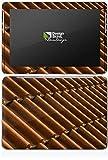 Samsung Galaxy Tab 2 10.1 Case Skin Sticker aus Vinyl-Folie Aufkleber Dachziegel Ziegel Look Muster