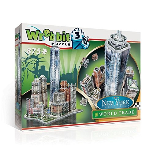 Wrebbit 3D 3D Puzzle World Trade - New York Collection