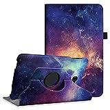 Fintie Hülle für Samsung Galaxy Tab A 10,1 Zoll T580N / T585N Tablet - 360°Drehbarer Stand Cover Case Schutzhülle Tasche Etui mit Ständerfunktion Auto Schlaf/Wach Funktion, DieGalaxie