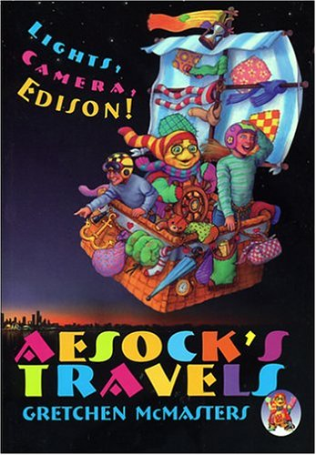 Aesock's Travels Lights, Camera, Edison! & Los Viajes De Aesock Iluz, Camara, Edison!: Lights, Camera, Edison! & ¡luz, Camara, Edison! (Aesock's Travels & Los Viajes de Aesock) por Gretchen McMasters