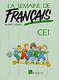 Image de La semaine de français CE1