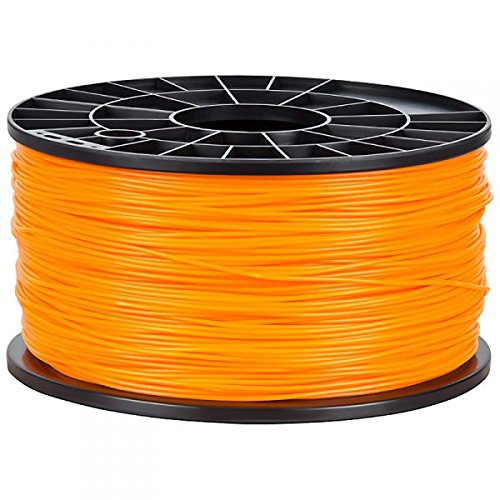 NuNus ABS Filament 1kg für 3D Drucker MakerBot RepRap MakerGear Ultimaker uvm. (orange, 1,75mm)