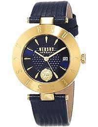 Versus by Versace Reloj Analogico para Mujer de Cuarzo con Correa en Cuero  VSP772218 eab92fa1bdc1
