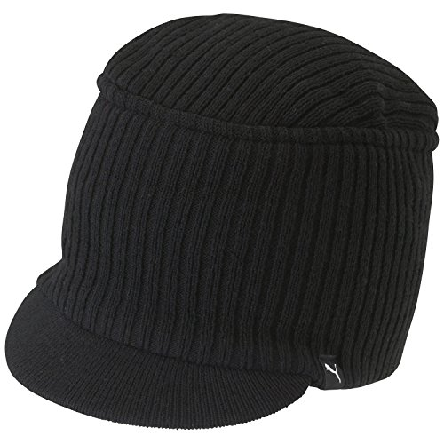 PUMA Mütze Snyder Knit Military Cap, Black, One size, 828275 01