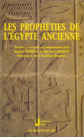 Prophéties, l'Egypte ancienne par Fermat