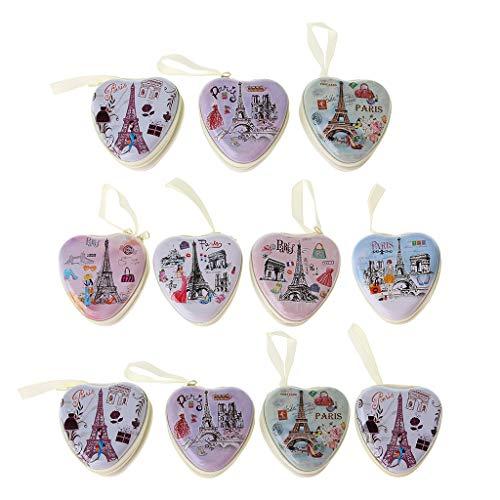 huiouer Mini-Ohrhörertasche in Herzform, für Münzen, Kopfhörer, USB-Kabel, Aufbewahrungsbox