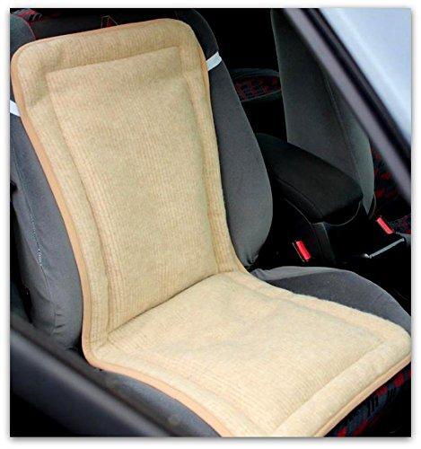 Preisvergleich Produktbild Merino Wool Auto/Stuhl-Sitzbezug / Polsterung, Merino-Wolle, 2 Stück